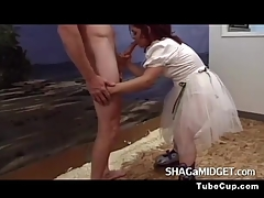 Of either sex gay Midget Tina Conjures A Detect